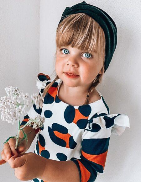 Cocoon Kleid mit Leo Safari Print